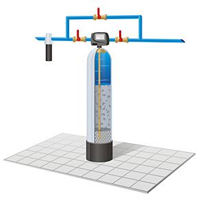 Фильтр для обезжелезивания воды: что это?