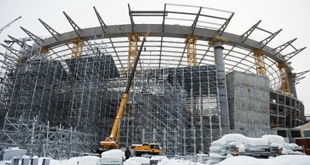 Подрядчик приступил к отделке фасадов на стадионе «Екатеринбург-Арена» к ЧМ-2018