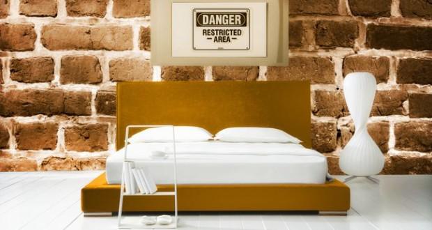 Стиль лофт в спальне — 5 основных правил оформления