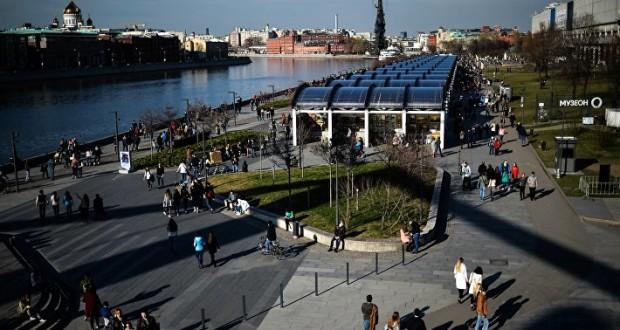 На набережных Москвы появятся новые пешеходные зоны
