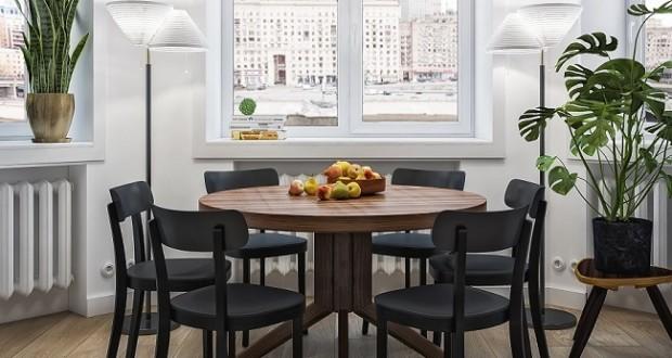 Проект интерьера квартиры в сталинке для семьи профессоров