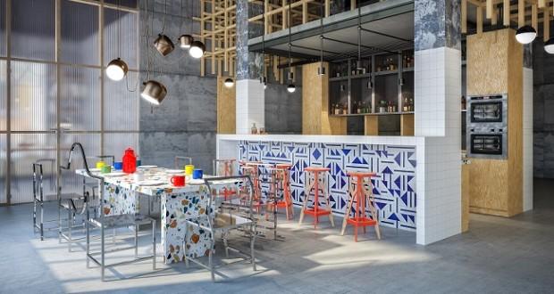 Проект квартиры в стиле лофт с элементами японской эстетики
