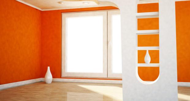 Зонирование пространства с помощью декоративных перегородок