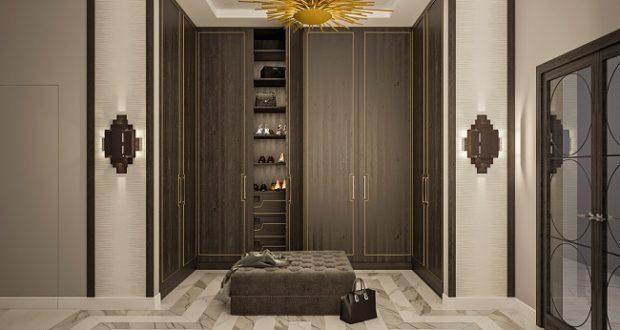 Интерьер в стиле ар-деко в серых тонах «Нью-Йорк, Нью-Йорк»