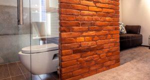Ванная комната в стиле лофт: дизайн, материалы, выбор цвета и мебели