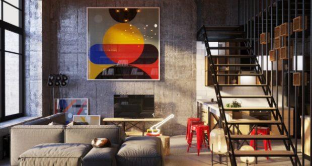 Квартира в стиле лофт: жильё для работы и отдыха современного фотографа
