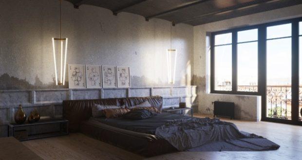 6 идей для дизайна мужской спальни